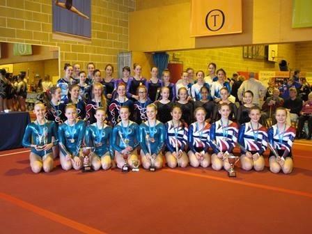 U15 Gymnasts take GISA Gold