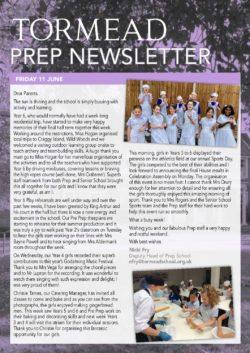 Prep Newsletter 18 June