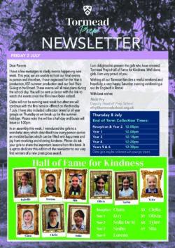 Prep Newsletter 2 July 2021